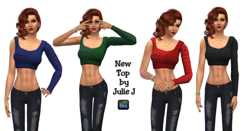 New Top for Teen - Elder Females by JulieJ