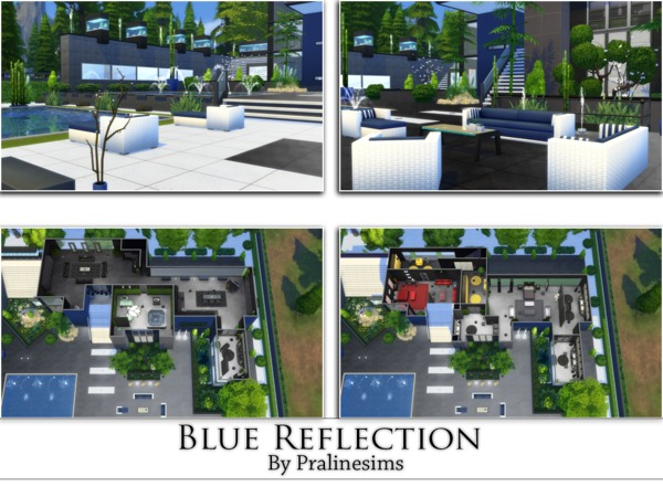 Blue Reflection by Pralinesims