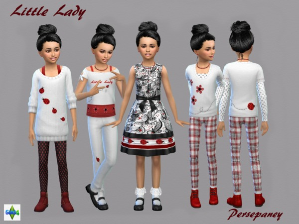 Little Lady Set by Persephaney