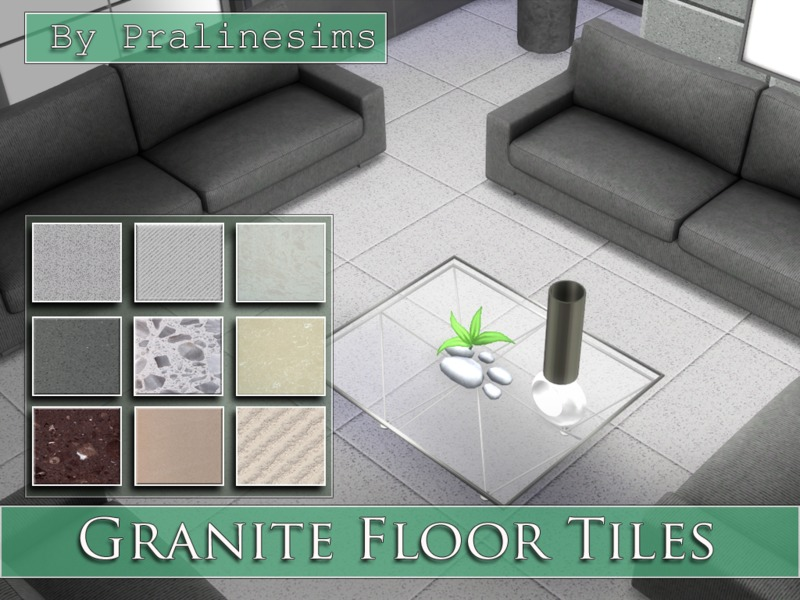 Granite Floor Tiles by Pralinesims