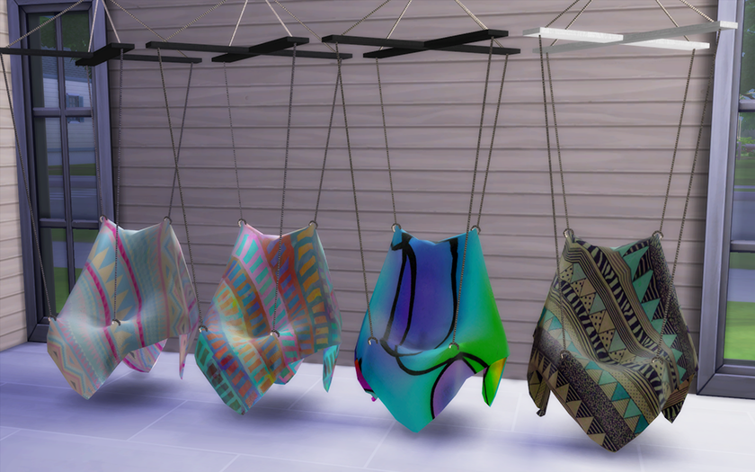 LindseyxSims Hanging Chair Recolors by Amiutza