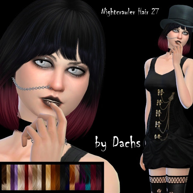 Nightcrawler Hair 27 by Dachs