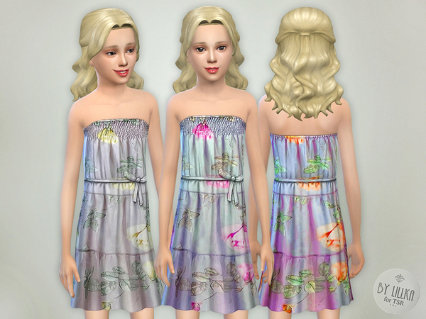 Flowing Voile Dress by lillka