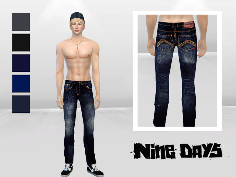 Bad Xtian Slim Jeans BY McLayneSims