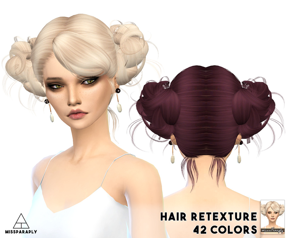 Newsea Love And Kiwi Hair Retexture by MissParaply