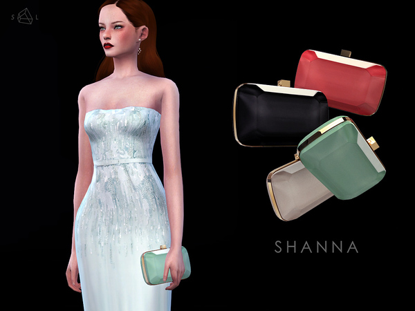 Stone Shaped Clutch - SHANNA by starlord