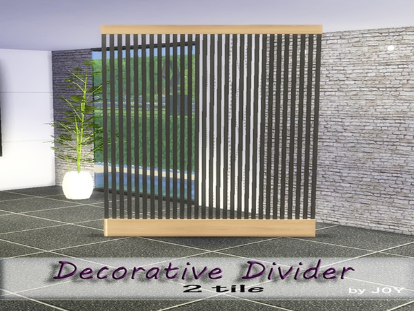 Decorative Divider by Joy