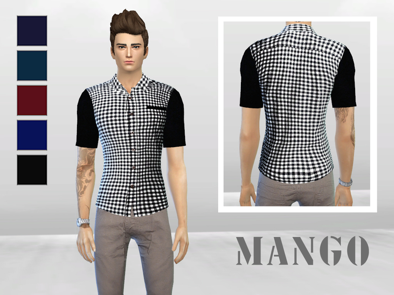 Gingham Simple Checkered Shirt  BY McLayneSims