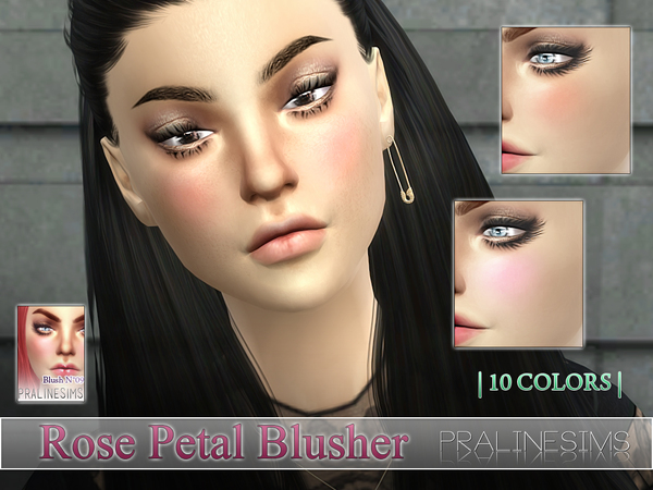 Rose Petal Blusher  N09 by Pralinesims