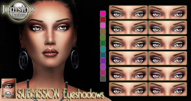 Submission eyeshadows by JomSims