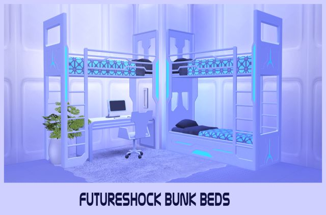 TS3 Futurshock Bunk Beds Conversion by BrialImmortelle