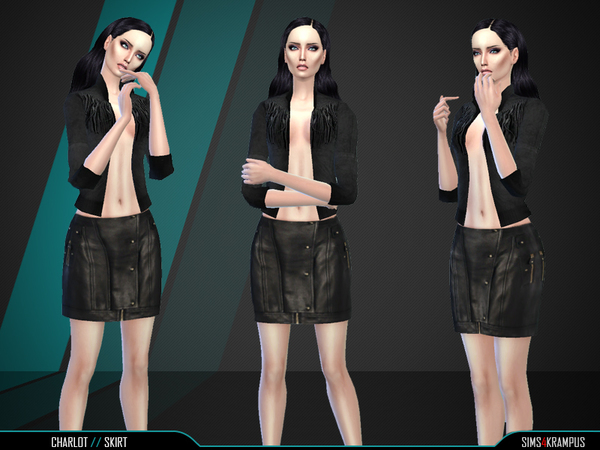 Charlot Skirt by SIms4Krampus