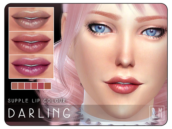 [ Darling ] - Supple Lip Colour by Screaming Mustard