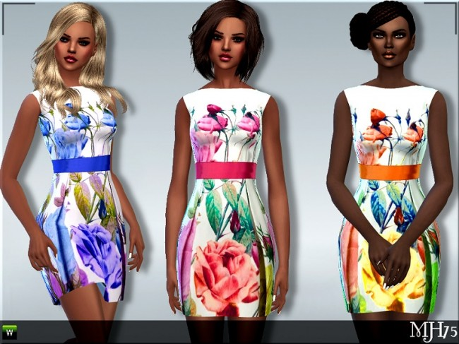 Floral Dresses by Margeh-75