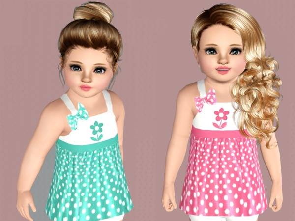 Polka Dot Toddler Dresses by SweetDreamsZzzzz
