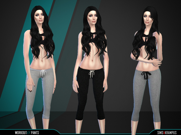 Set of 3 Workout Pants by SIms4Krampus