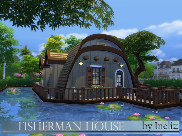 Fisherman House by Ineliz