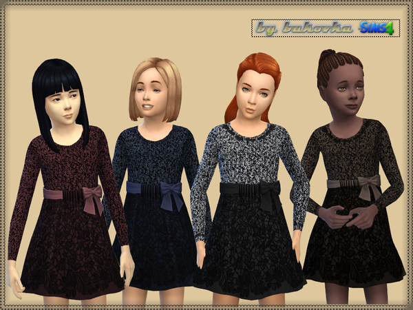 Dress Tweed and Lace by bukovka