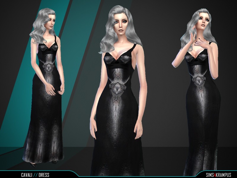 Cavali Dress by SIms4Krampus