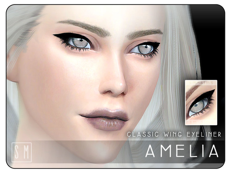 [ Amelia ] - Classic Eyeliner by Screaming Mustard