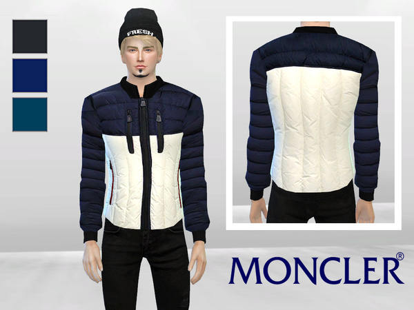 Grenoble Mens Down Jacket by McLayneSims