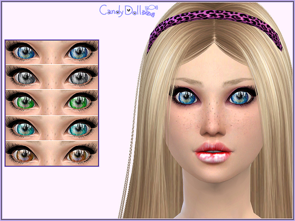 Candy Doll Eye Drops by DivaDelic06