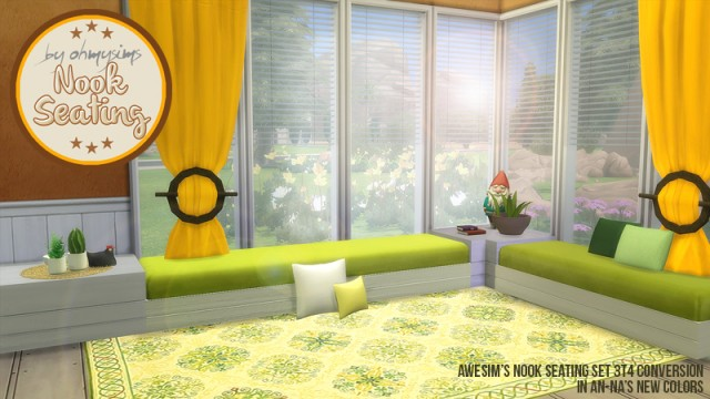 3t4 Nook Seating Set by OhMySims