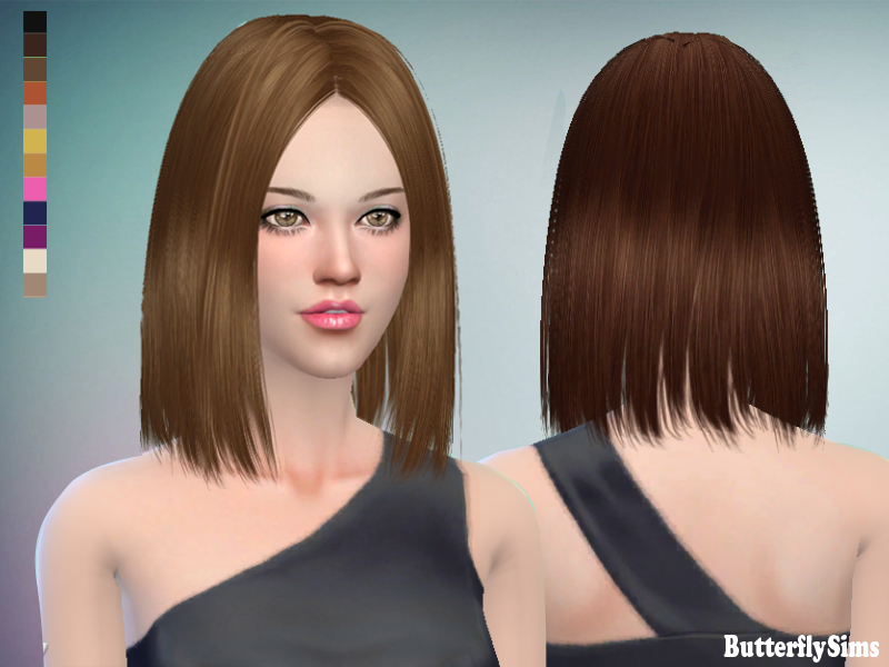 Butterflysims 159 Hair for Females