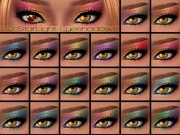 STARLIGHT EYESHADOWS by PLAYFULS STUDIO