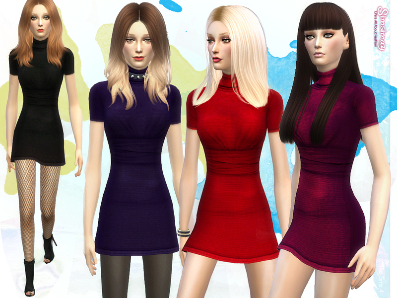 Monica Jersey Dress by Simsimay