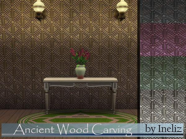 Ancient Wood Carving by Ineliz