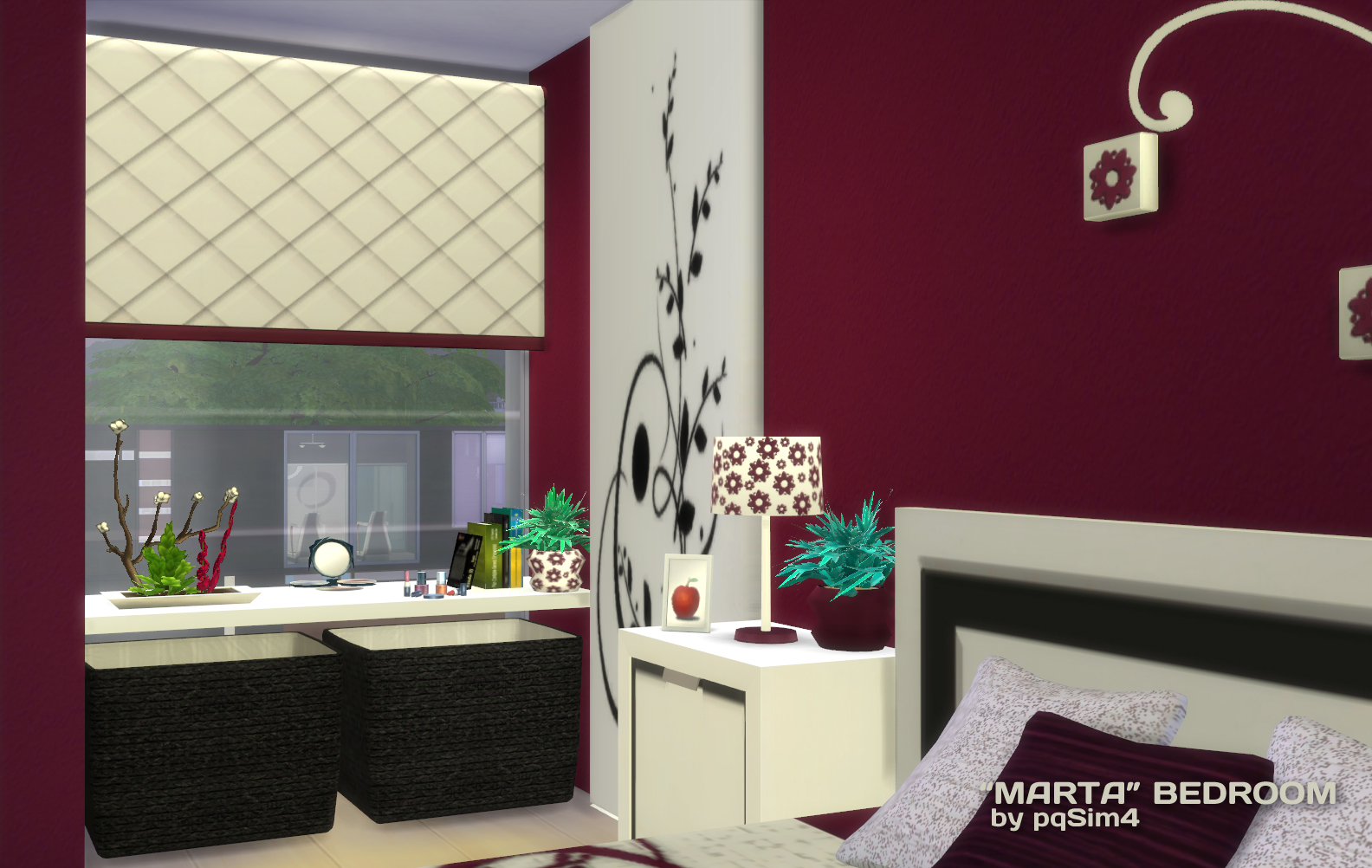 MARTA BEDROOM By  PQSIMS4