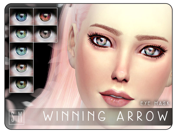 [ Winning Arrow ] - Eye Mask by Screaming Mustard