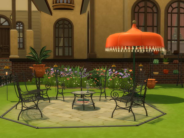 Cast Iron Gardenset by ShinoKCR