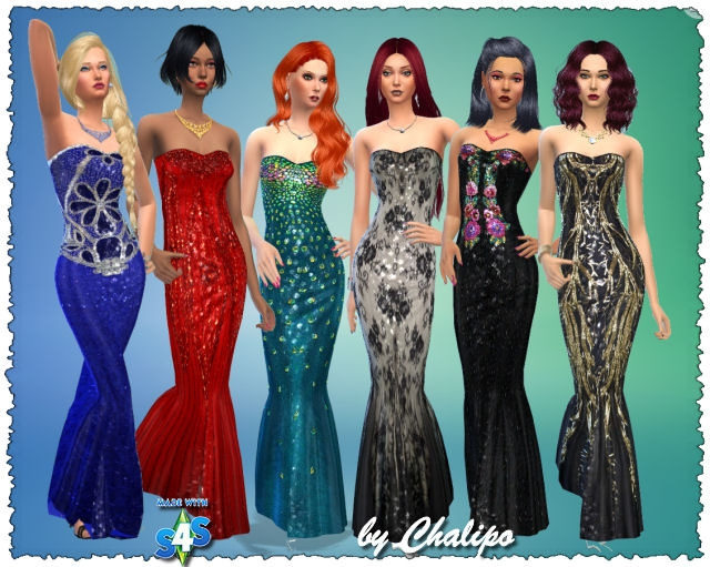 Clothing for Females by Chalipo