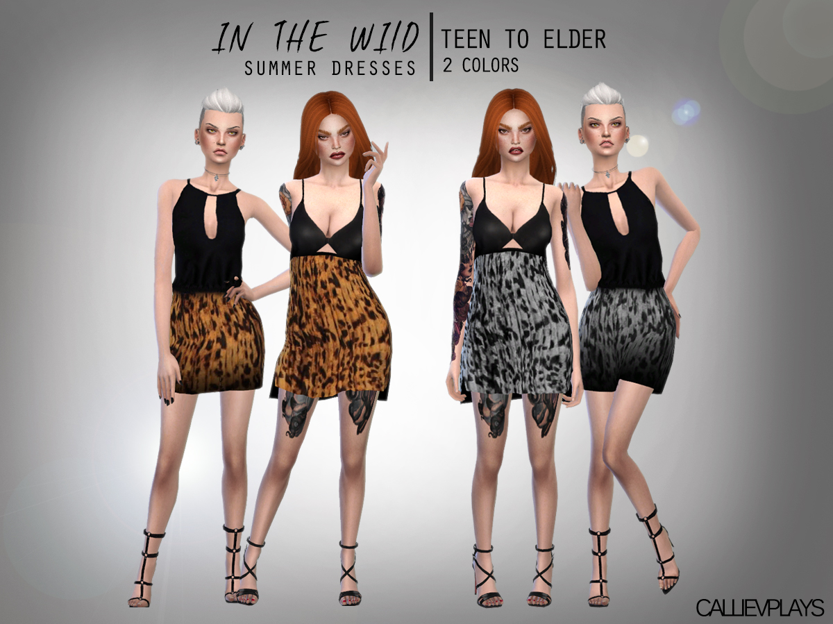 CallieV_plays_InTheWild_Summer_Dress