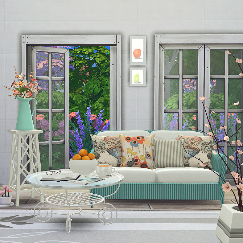 Summer Breeze Living Room Set by BlackCatPhoenix
