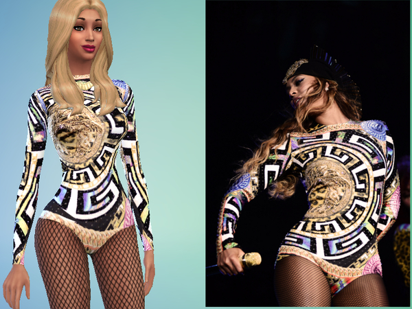 Beyonce's outfit by Cruzo