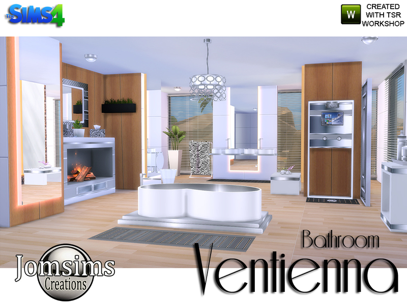 Ventienna Bathroom Modern  BY jomsims