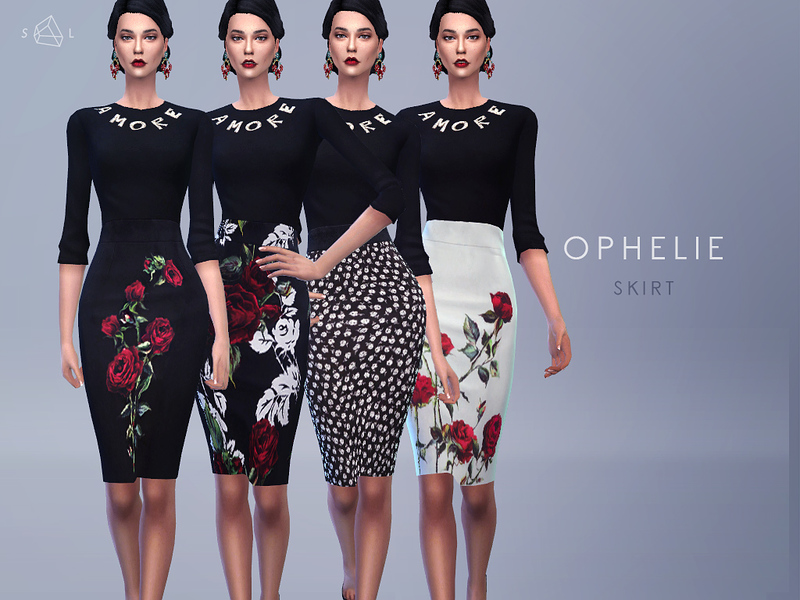 Sweater and Pencil Skirt Set - OPHELIE  BY starlord