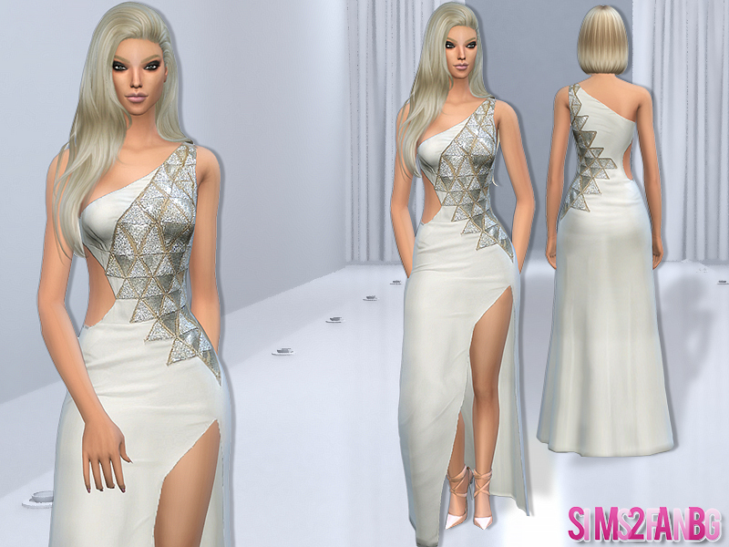73 - Designer dress  BY sims2fanbg