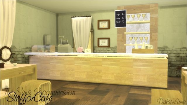 TS2 Steffor Cafe Set Conversion by DalaiLama