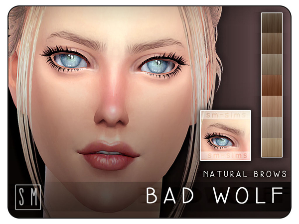 [ Bad Wolf ] - Natural Brows by Screaming Mustard