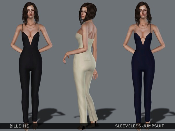 Sleeveless Jumpsuit by Bill Sims