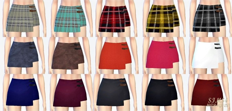 Bottom wrap skirts by Marigold