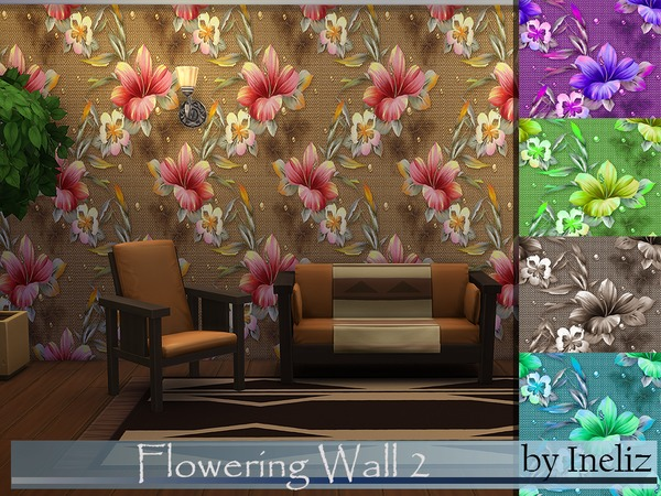 Flowering Wall 2 by Ineliz