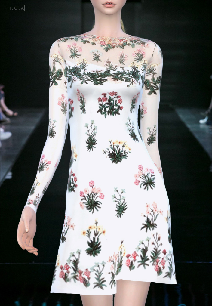 Valentino Dress by HOAS