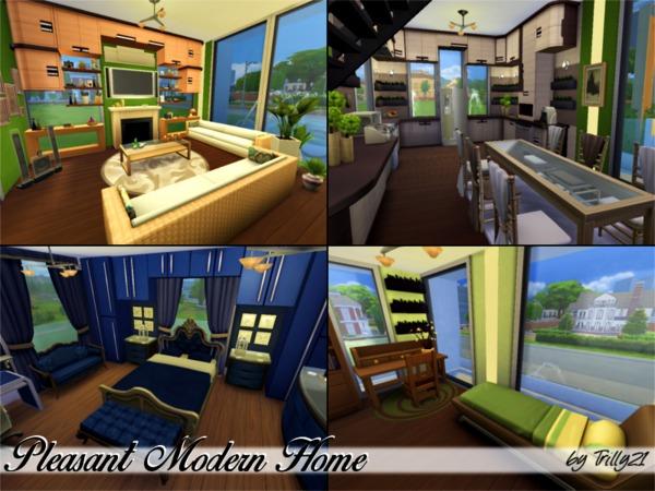 Pleasant Modern Home by Trilly21