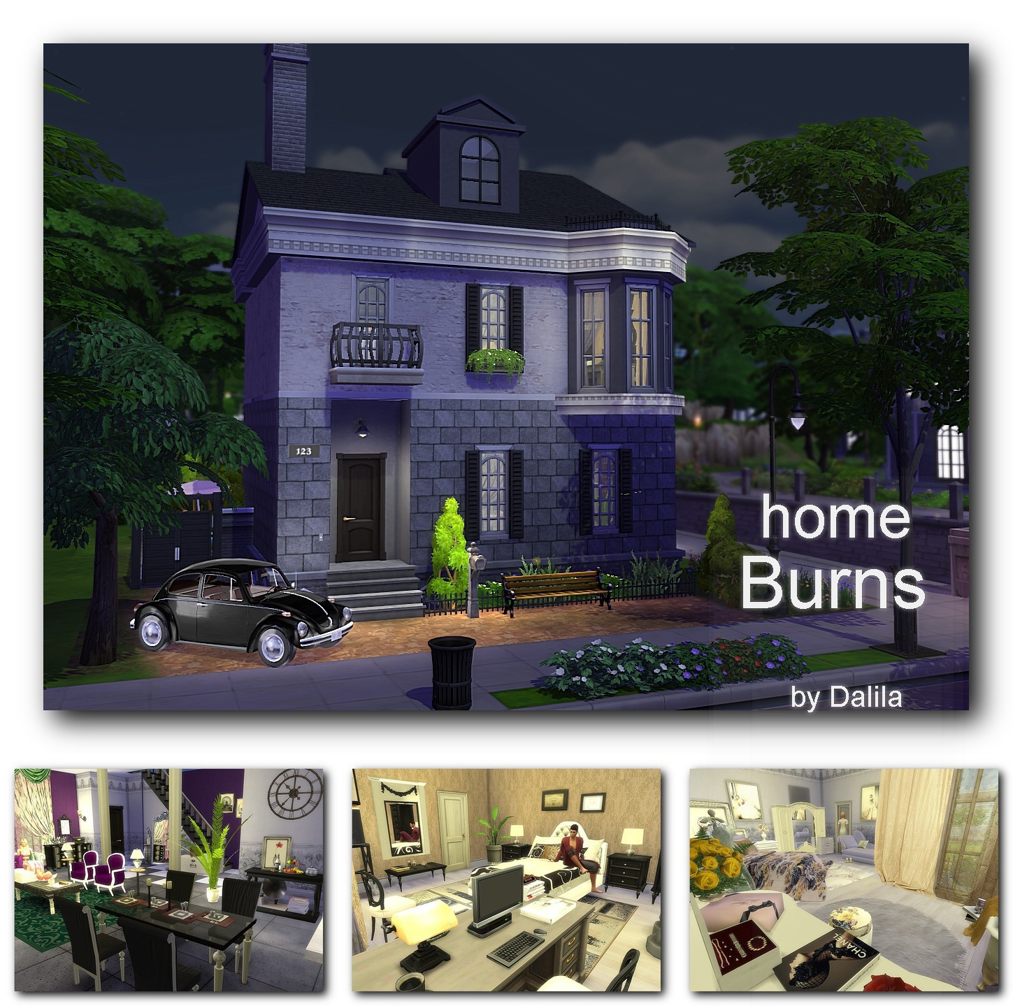 Home Burns by Dalila