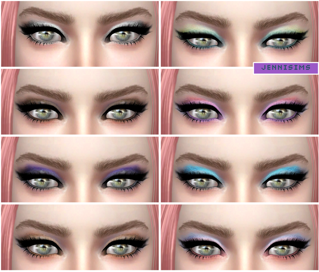 Jenni Sims  Make Up, Eyeshadow : EyeShadow Eternal Vol8